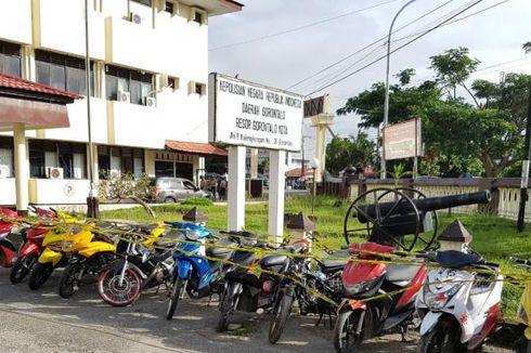 Sindikat Pencuri Motor Lintas Provinsi Tertangkap Polisi Gorontalo