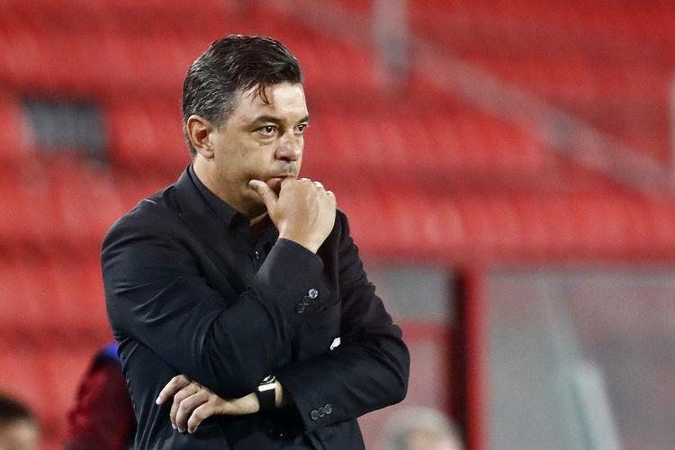 Pelatih asal Argentina yang kini menukangi River Plate, Marcelo Gallardo.