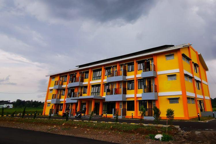 Rusunawa Universitas Siliwangi di Tasikmalaya, Jawa Barat.