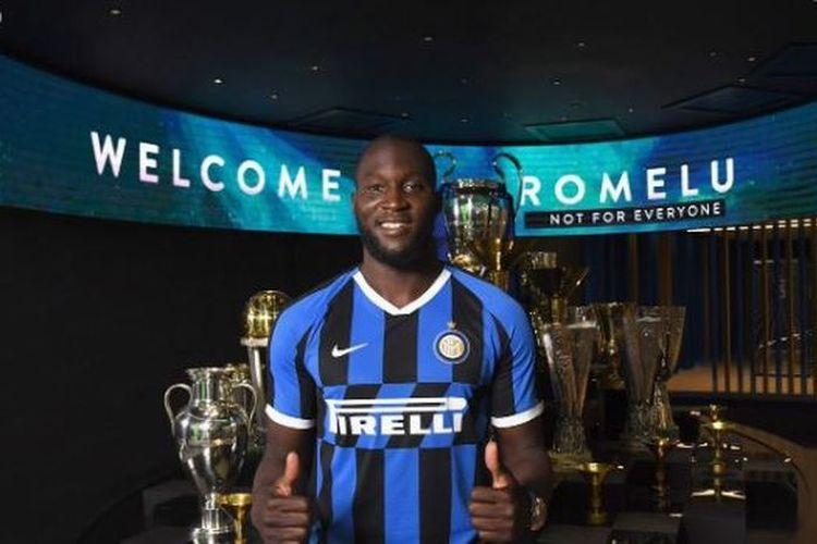 Romelu Lukaku resmi bergabung dengan Inter Milan, 8 Agustus 2019.