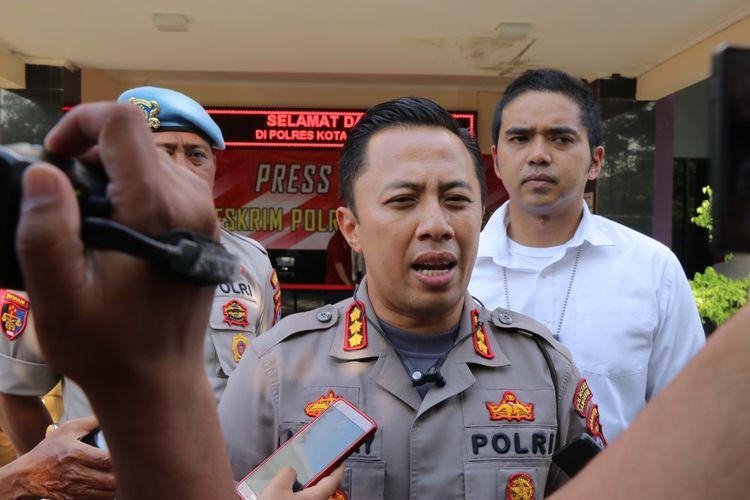 Kapolres Kota Tangerang, Kombes Pol Ade Ary Syam Indradi di Polres Kota Tangerang, Senin (3/2/2020)