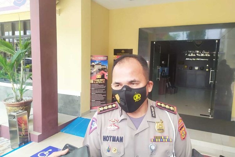 Direktur Lalu Lintas Polda Sumatera Selatan Komisaris Besar Polisi (Kombes Pol) Cornelis Ferdinand Hotman Sirait.