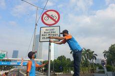 Uji Coba Lintasan Road Bike di JLNT Tetap Berlanjut meski Rambu Pengecualian Dicopot
