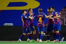 Kemenangan Barcelona dengan Momen Messi-Griezmann Berpelukan