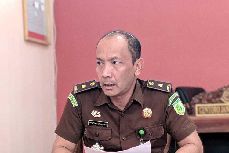 Kepala Seksi Pidana Umum Kejari Purwokerto Guntoro Jangkung