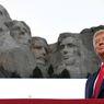 Trump soal Wajahnya Dipahat di Mount Rushmore: Sepertinya Ide Bagus