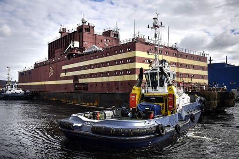 Rusia Luncurkan Reaktor Nuklir Terapung Pertama di Dunia ke Kutub Utara