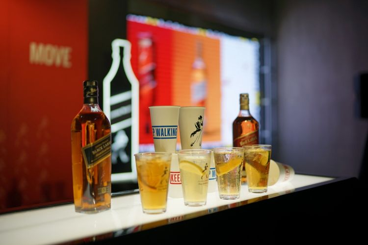 Johnnie Walker Highball Collection, Brightspot Market 2019, Jakarta.