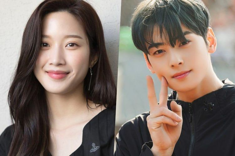 Aktris Moon Ga Young dan aktor Cha Eun Woo bakal bermain di drama adaptasi Webtoon True Beauty.