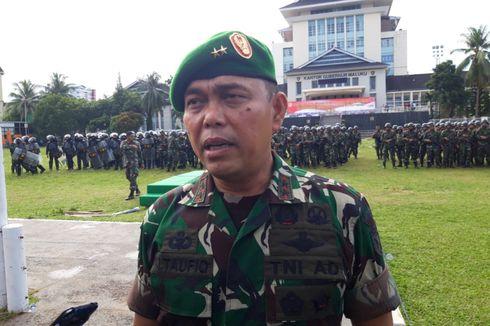 Apel Pengamanan Pemilu 2019, Kodam Pattimura Libatkan 3.200 Personel