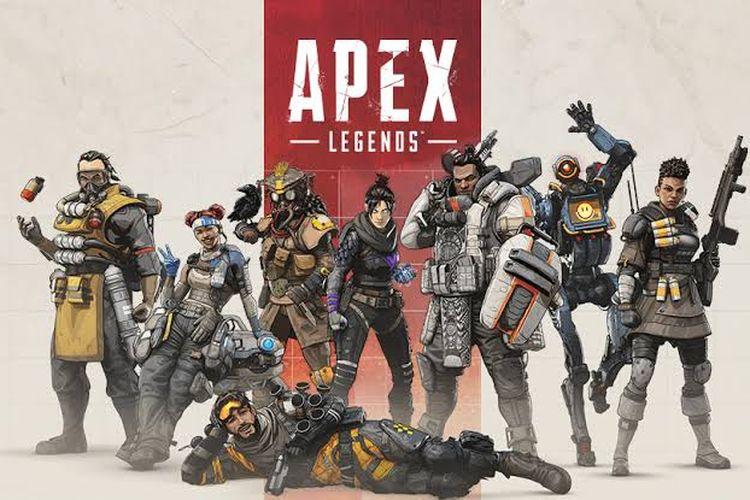 Ilustrasi Apex Legends.
