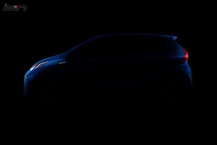 Ilustrasi teaser Datsun Redi-Go