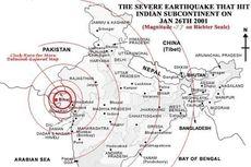 Hari Ini dalam Sejarah: Gempa M 7,7 di Gujarat Sebabkan 20.000 Orang Meninggal