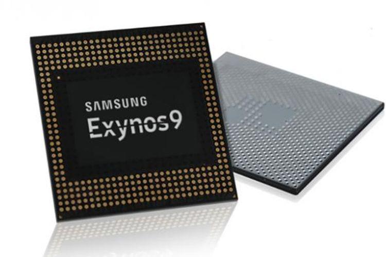 Ilustrasi chip Exynos 9 Series.