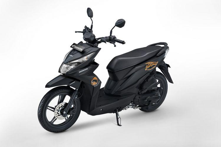 New Honda BeAT Street eSP punya warna Spesial Matte Black.