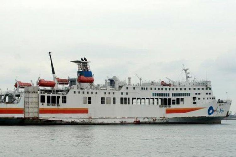Ilustrasi kapal roro