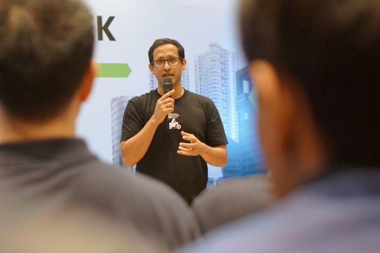 CEO Go-Jek, Nadiem Makarim.