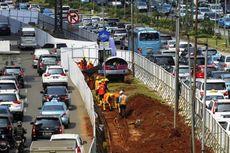 Konstruksi MRT Dimulai, Median Jalan HI-Sarinah Ditutup 4 Tahun