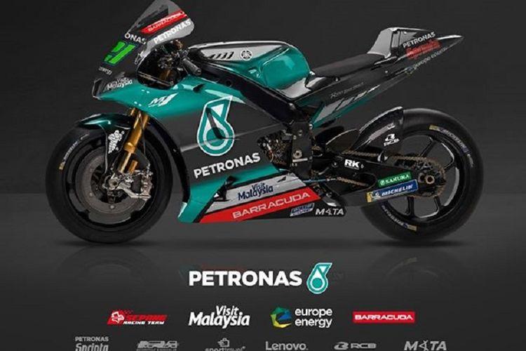 Motor balap tim Petronas Yamaha Sepang Racing Team untuk MotoGP 2019.