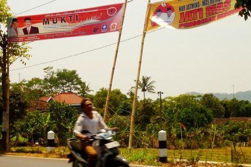 Baru Sepekan Dipasang, Banyak Alat Peraga Kampanye di Kabupaten Semarang Rusak