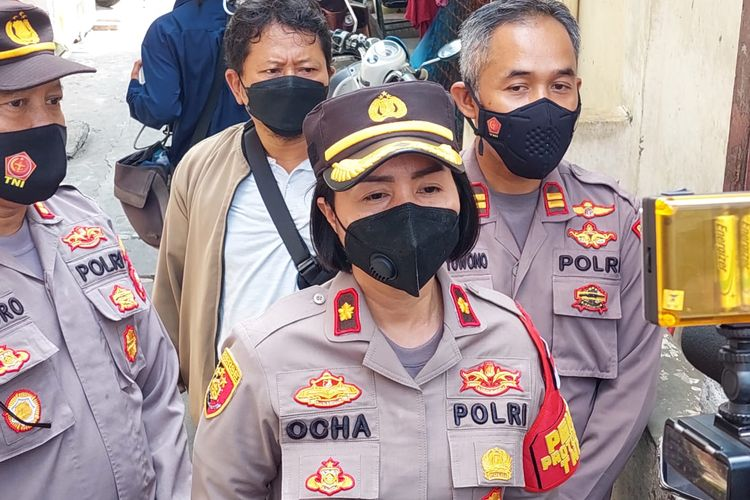 Kapolsek Tanjung Duren Kompol Rosana Labobar saat ditemui Rabu (1/9/2021).