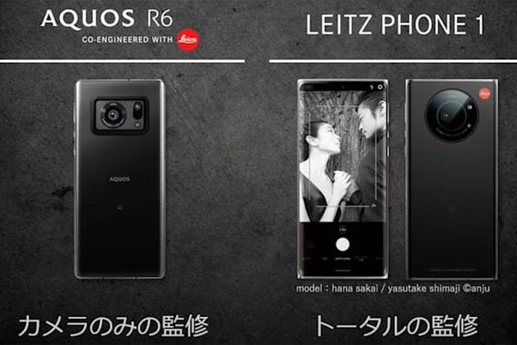 Lecia Leitz Phone 1 adalah ponsel rebrand dari ponsel Sharp Aquos R6.
