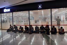 Calon Pembeli iPhone 11 di iBox Central Park Antre sejak Pukul 4 Pagi