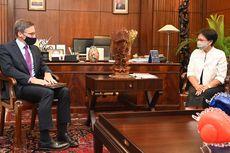 Berkunjung ke Indonesia, Konselor AS Temui Menlu Retno dan Tegaskan Kemitraan Strategis