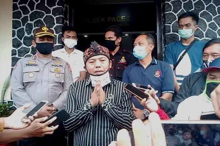 Anggota DPRD Jabar RHD menyampaikan permintaan maaf kepada korban dan warga Jawa Barat atas kelakuan anak buahnya yang memukul staf hotel