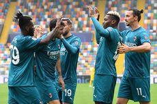 Babak I AS Roma Vs AC Milan, Gol Penalti Franck Kessie Bawa Rossoneri Unggul