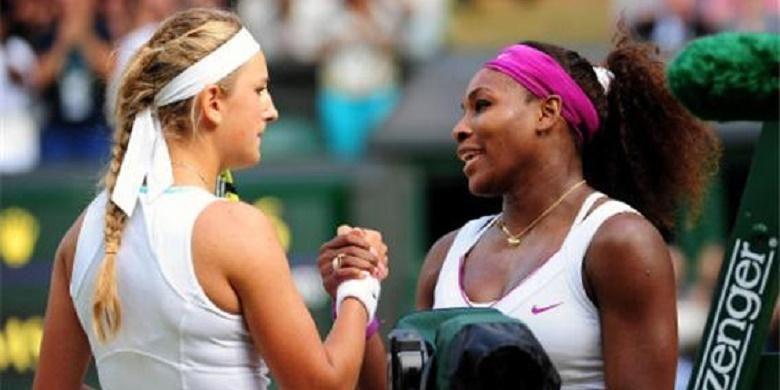 Victoria Azarenka dan Serena Williams