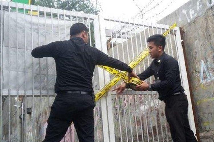 Lokasi pembunuhan Noven, siswi SMK Baranangsiang, di Bogor Timur, Kota Bogor, Jawa Barat.