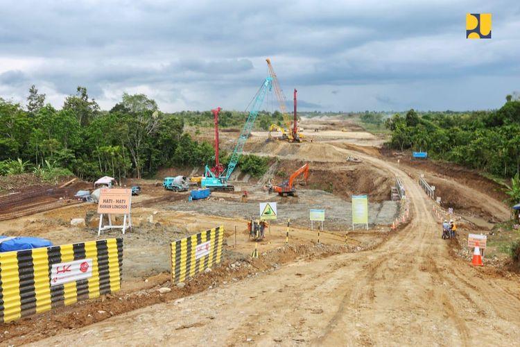 Pekerjaan di Tol Banda Aceh-Sigli