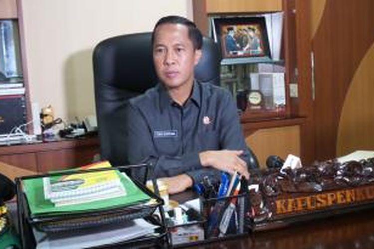 Kepala Pusat Penerangan Hukum Kejaksaan Agung Tony T Spontana