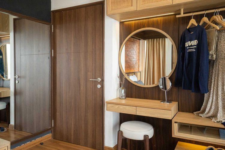 Desain interior apartemen tradisional karya Fiano
