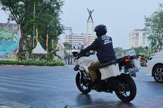 Anies Pakai Kawasaki Versys-X 250 saat Inspeksi Venue Asian Games