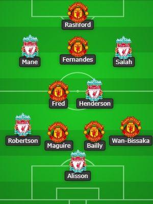 Best XI Liverpool dan Manchester United versi presenter olahraga Tanah Air, Tio Nugroho, jelang duel kedua tim pada Minggu (17/1/2021).