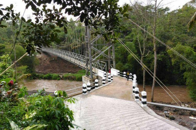 Kementerian PUPR Selesaikan 120 Jembatan Gantung di 22 Provinsi