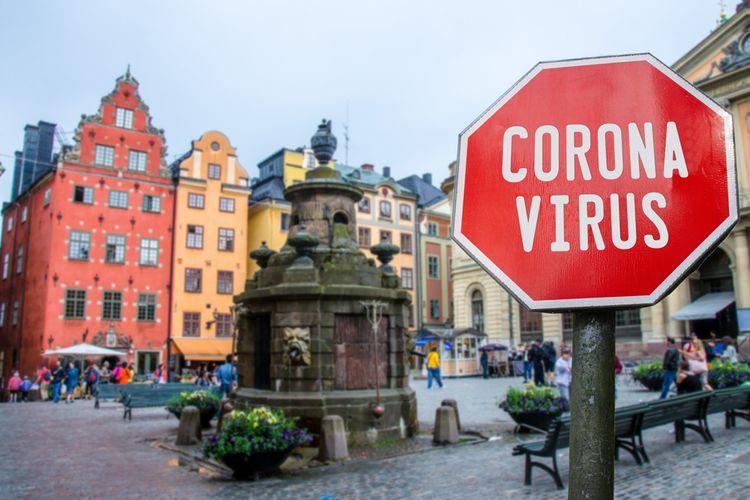Suasana Kota Stockholm, Swedia.