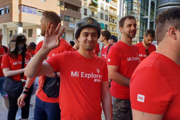 Para Mi Fans dari seluruh dunia serta para jurnalis diundang ke acara peluncuran Xiaomi Mi A2 di Madrid, Spanyol, Selasa (24/7/2018).
