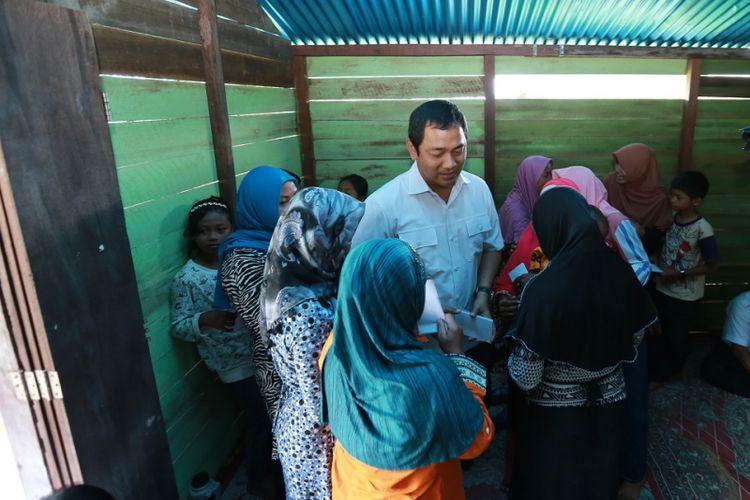 Wali Kota Semarang Hendrar Prihadi berkunjung ke Kalimantan Barat untuk bertemu dengan para transmigran asal Kota Semarang, Rabu (27/9/2017)