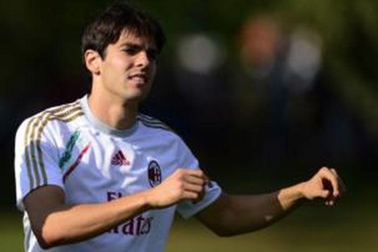 Gelandang serang AC Milan, Kaka.