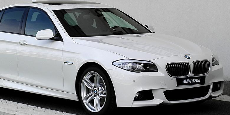Sedan diesel BMW 520d