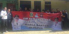 Ke Wamena, Tim Kemanusiaan Pemprov Banten Evakuasi Warga