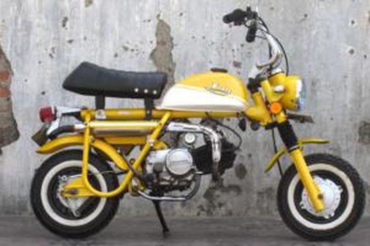 Bebek Honda Disulap Jadi Mini Trail