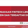 Update, Ini Daftar 121 Fintech Lending Terdaftar dan Berizin dari OJK