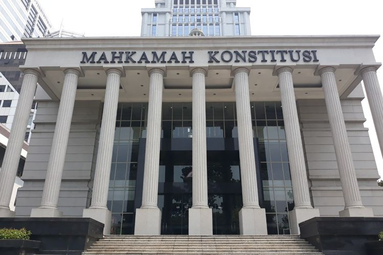 Gedung Mahkamah Konstitusi (MK), Jalan Medan Merdeka Barat, Jakarta Pusat.
