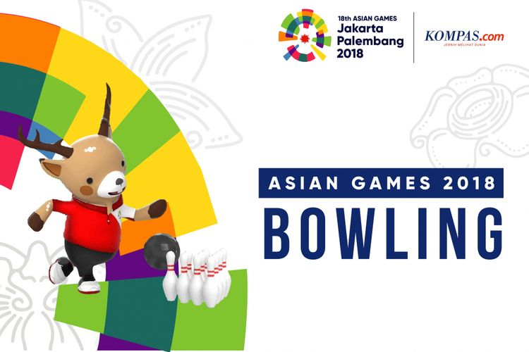 Desain Asian Games bowling