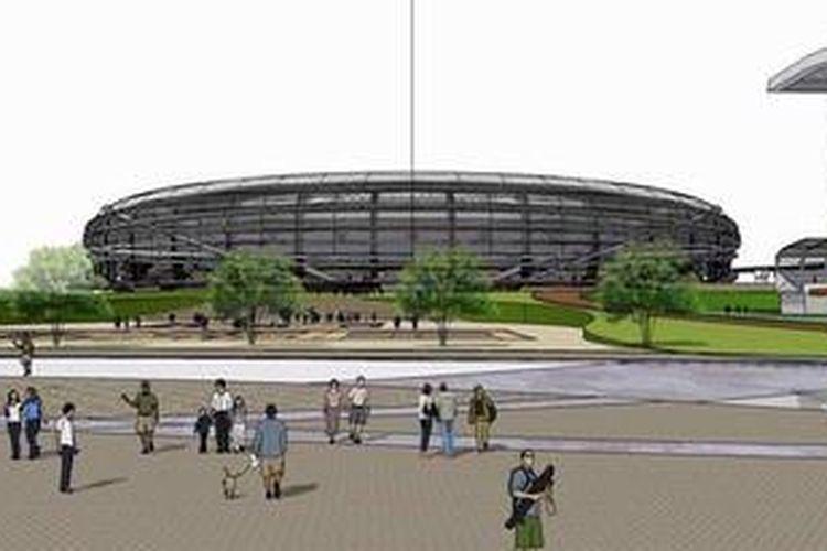 Rancangan Stadion Internasional Jakarta yang dibuat oleh PT Pandega Desain Weharima selaku pemenang sayembara desain stadion tersebut. Stadion ini direncanakan akan dibangun Taman BMW (Bersih-Manusiawi-Berwibawa) Sunter, Jakarta Utara.
