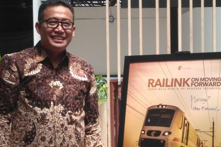 Direktur Utama PT Railink Heru Kuswanto